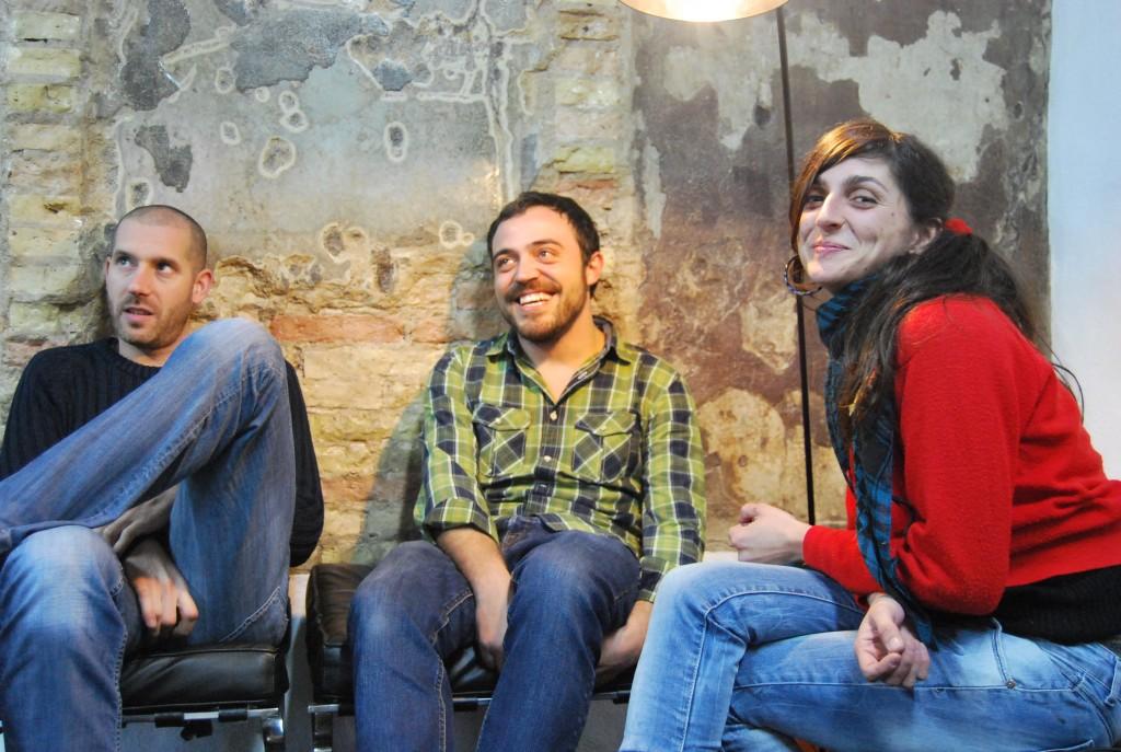 Juanvi, Alex y Natalia